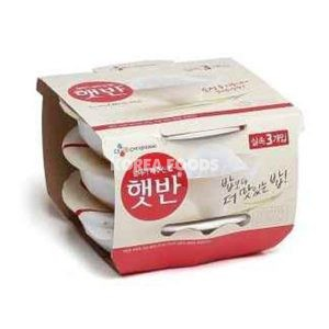 Microwavable Cooked Rice (White) 210gx3