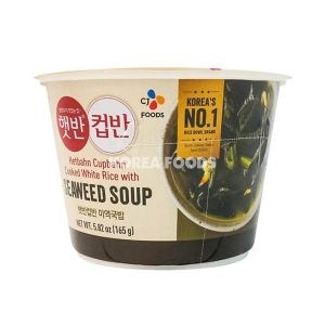 Cupbahn Seaweed Soup with Rice 165g