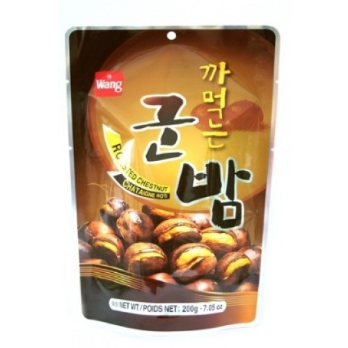 wang roasted chestnut with shell 150g | korea foods