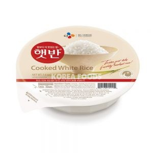 CJ Microwavable Cooked Rice (Hat-Ban) 210g