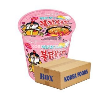 Carbo Hot Chicken flavour Ramen Cup (80g x 30) Box