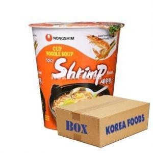 Shrimp Noodle Cup (67g x 12) Box