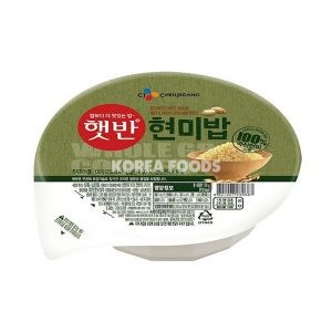 Cooked Rice Made With 100% Brown Rice 130g