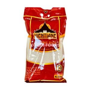 Vientiane Thai Jasmine Rice Superb (AAA) 4.5KG