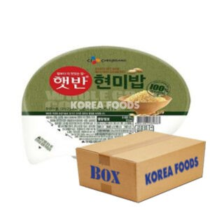 Cooked Rice Made With 100% Brown Rice (130g x 24) Box