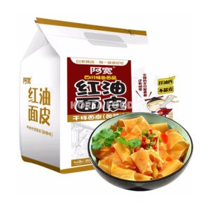BJ Sichuan Broad Noodle (Multipack) -Sour and Hot Flavour (105gx4)