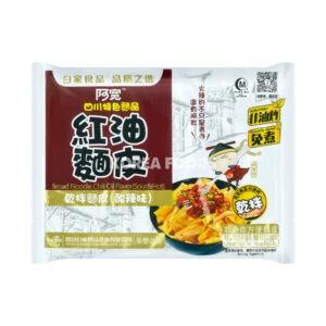 BJ Broad Noodle (Bag) – Sour & Hot 115g