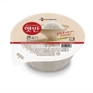Microwavable Cooked Rice 300G /Round Packaging
