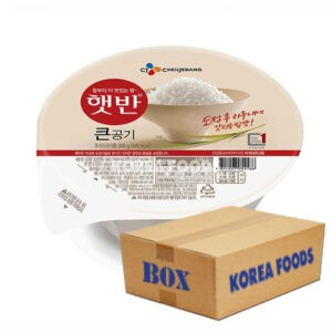 Microwavable Cooked Rice (300G /Round Packaging x 18) Box