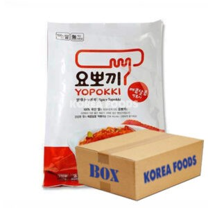 Instant Topokki Yopokki 2Portion (280g x 24) Box