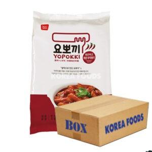 Yopokki Hot & Spicy 2 portion (240g x 24) Box