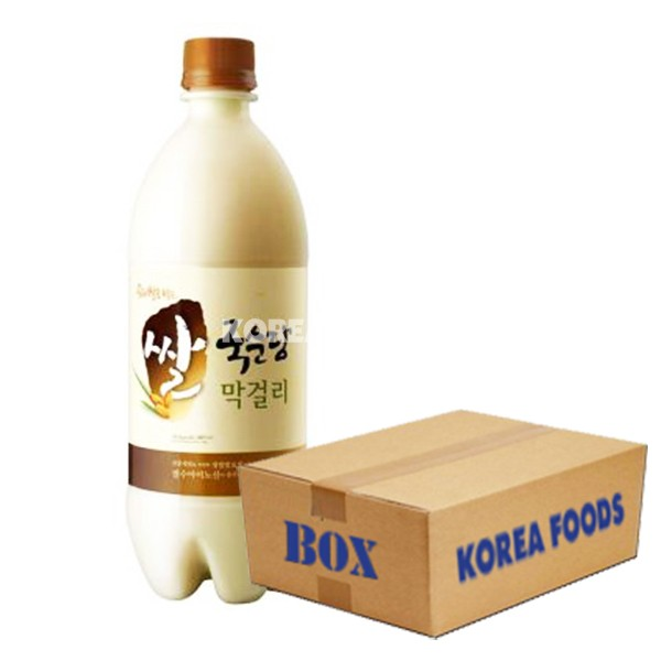 Korean Rice Wine Abv 6 750ml X 12 Box Korea Foods