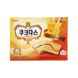 Couque Dasse Square Cheese 96g
