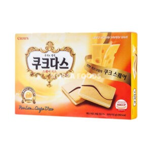 Couque Dasse Square Cheese 192g