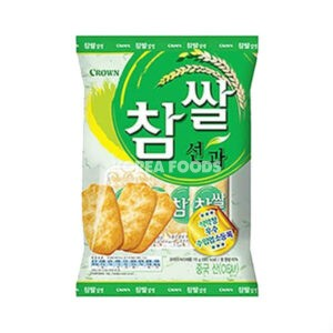 Crown Shally Senbei (Green) 115g