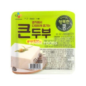 CJ Tasty Soy Tofu 520g
