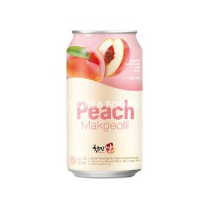 Peach Makgeolli ABV 3% 350ml