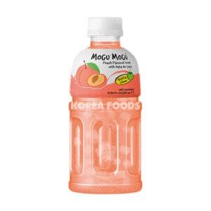 Mogu Mogu Nata De Coco Drink- Peach Flavour 320ml