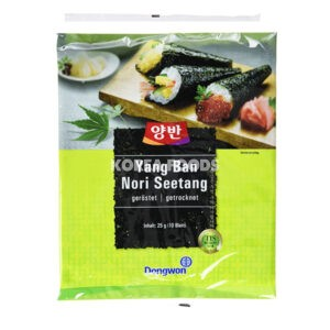 Dongwon Roasted Laver for Sushi 10SHT (25g)