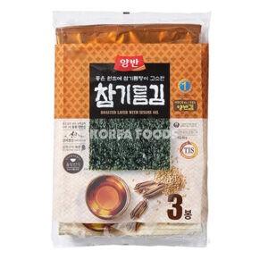 Dongwon Seasoned Laver (Sesame Oil) Large (20g x 3)