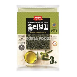 Dongwon Seasoned Laver (Olive Oil) Large (20g x 3)