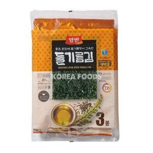 Dongwon Seasoned Laver (Perilla Oil) Large (20g x 3)