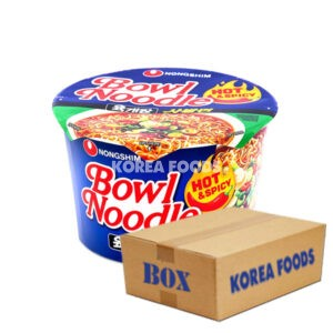 Bowl Noodle Soup Hot & Spicy (100g x 12) Box