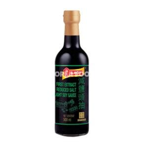 Amoy FE Reduced Salt Light Soy Sauce 500ML
