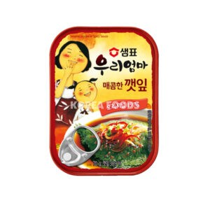 Sempio Canned Sesame Leaves In Soy Sauce Spicy 70G
