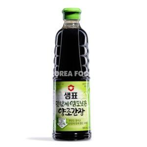 Sempio Naturally Brewed Soy Sauce, Less Salt 930ml