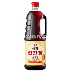 Soy Sauce Jin Gold F3 (Kosher) 1.8L