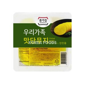 Chongga Pickled Radish Slice 220g