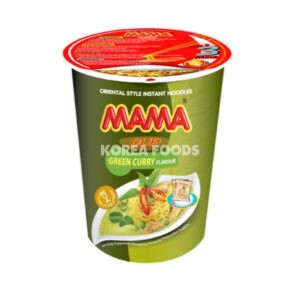 Mama Cup Noodle Green Curry 70G