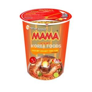 Mama Cup Noodle Creamy Shrimp Tom Yum 70G