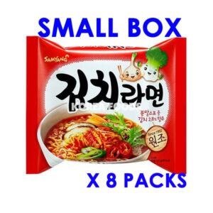 Kimchi Ramen (120g x 8) Small Box