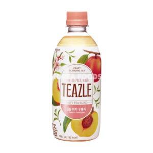 TEAZLE Peach & Oolong tea 500ml